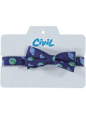 Civil Boy Bow Tie, Indigo