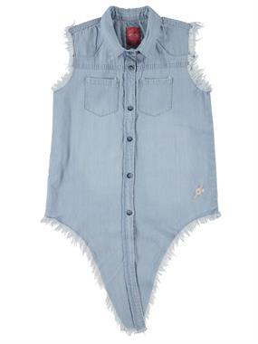 Civil Girls Blue Shirt Girl Jeans Age 6-9