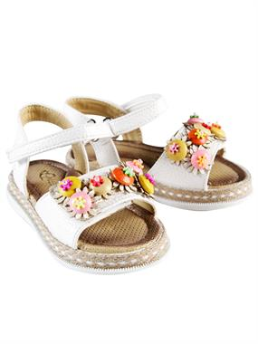 Missiva Number Girl White Sandals 21-25