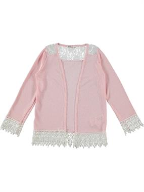 Civil Girls Girl Pink Lace Cardigan Age 6-9