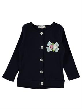 Civil Girls Girl Cardigan Navy Blue Age 2-5