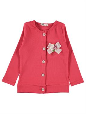 Civil Girls Tongue In Cheek 2-5 Years Girl Cardigan