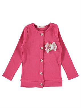 Civil Girls 2-5 Years Girl Fuchsia Cardigan