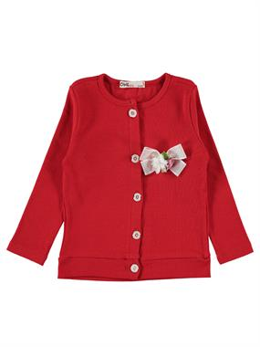 Civil Girls Girl Red Cardigan Age 2-5