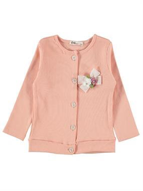 Civil Girls Salmon Cardigan Girl Age 2-5
