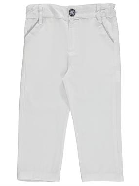 Civil Boys Boy Linen Pants White 2-5 Years