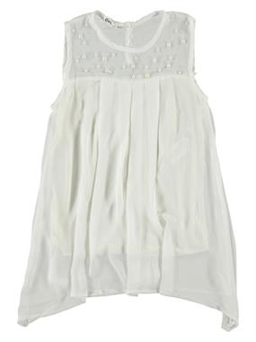 Civil Girls Ecru Shirt Boy Girl Age 10-13