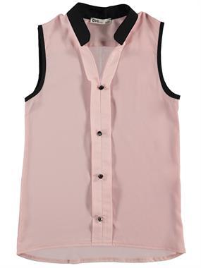 Civil Girls My Collar Buttoned Shirt Powder Pink Boy Girl Girl Age 10-13 Pancakes On Civil