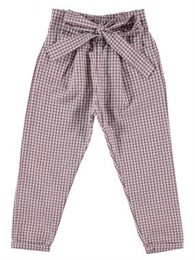 Civil Girls Damson Plaid Pants Boy Girl Age 6-9 The Pit