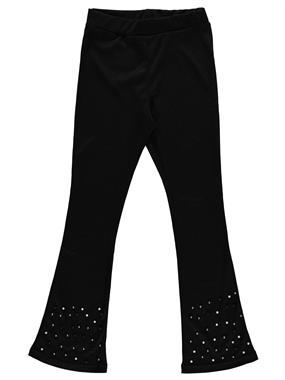 Civil Girls Girl's Bell-Bottoms Tights Black