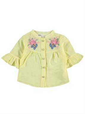 Civil Girls 2-5 Years Boy Girl Yellow Shirt