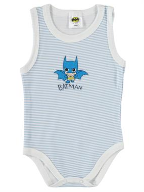Batman 3-24 Months Baby Boy Blue Bodysuit With Snaps