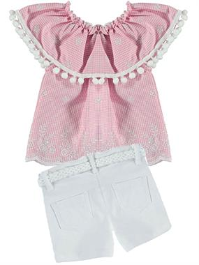 Civil Girls The Team In 2-5 Years Girl Boy Shorts Pink