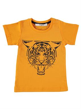 Roly Poly Boy T-Shirt, Orange, Age 1-4