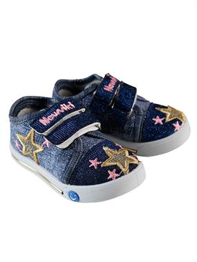 Newviki The Number Of 20-25 Blue Baby Girl Shoes