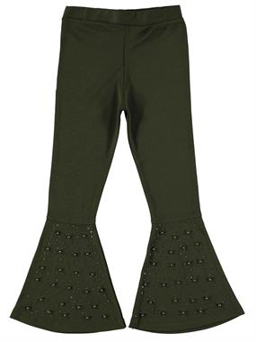 P&P 3-7 Age The Gospel Of The Girl Child Tights Khaki