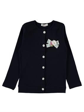 Civil Girls Girl Navy Blue Cardigan Age 6-9