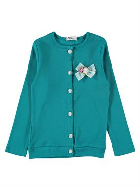 Civil Girls Blue Cardigan Age 6-9 Girl