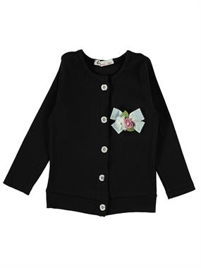 Civil Girls Girl Black Cardigan Age 6-9