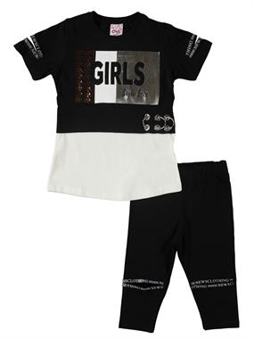 Civil Girls The Black Team Girl Child Age 6-9