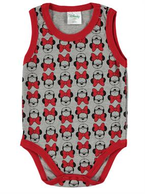 Civil Baby 3-24 Months Gray Bodysuit With Snaps Of The Girl Child