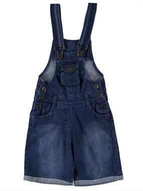 Civil Girls A Girl With A Strap Salopet A Child Age 6-9 Blue