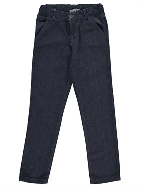 Civil Boys Ages 6-9 Boy Linen Pants Classic Indigo