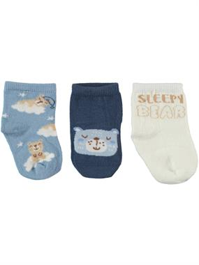 Civil Baby Baby boy 3-Blue Set of socks 0-24