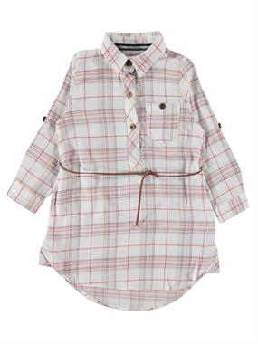 Civil Girls Patterned Shirt Red Plaid Girl Age 10-13