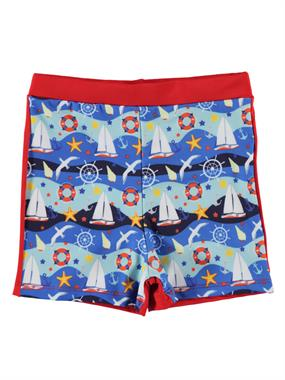 Civil Boys Red Swimwear Boy Age 1-13