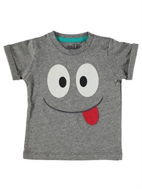 Kujju Baby Boy T-Shirt Gray 6-18 Months