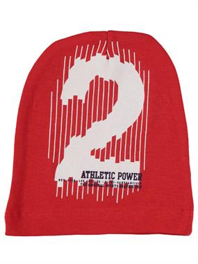 Albimama Boy Red Beanie 2-5 Years