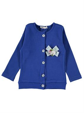 Civil Girls Saks Blue Cardigan Age 6-9 Girl