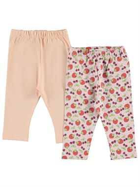 Civil Baby 2 baby girls-leggings powder pink 6-18 months