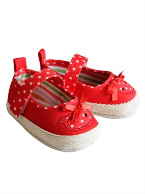 Bektay Baby Girl Booties First Step 17-19 # Red