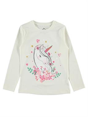 Cvl Age 6-9 Girl Kids Sweatshirt Ecru
