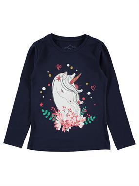 Cvl Kids Age 6-9 Girl Sweatshirt Navy Blue