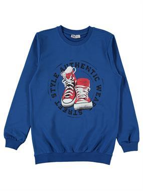 Cvl Age 6-9 Boy Blue Sweatshirt Saks