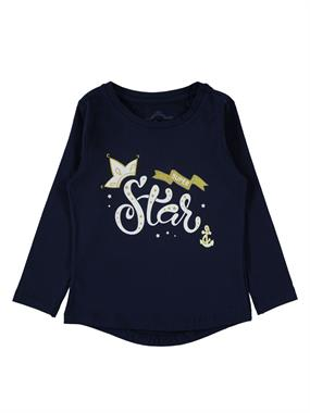 Cvl 2-5 Years Kids Girl Sweatshirt Navy Blue