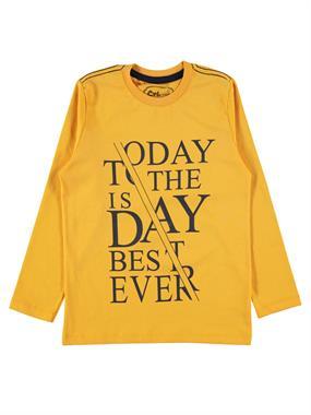 Cvl Age 6-9 Boy Sweatshirt Mustard