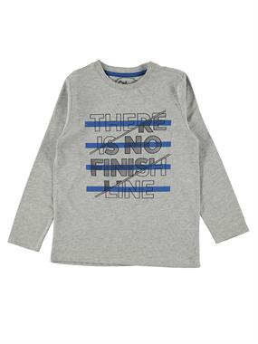 Cvl Age 6-9 Boy Gray Sweatshirt