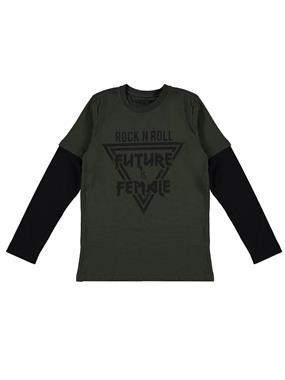 Cvl Boy Age 10-13 Khaki Sweatshirt