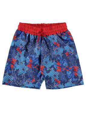 Spiderman Boy Shorts Age 3-9 Blue Sea