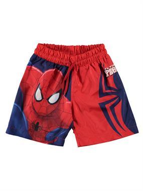 Spiderman Sea Boy Shorts Red Age 3-9