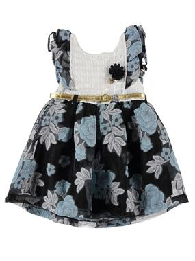 Babynass Girls Dress Blue 2-5 Years