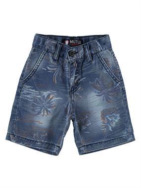 Mutlu 1-5 Years Blue Boy Shorts