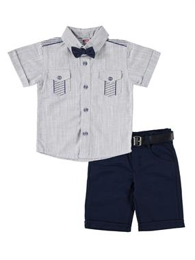 Kumru Team Boy With A Bow Tie Grey 2-5 Years