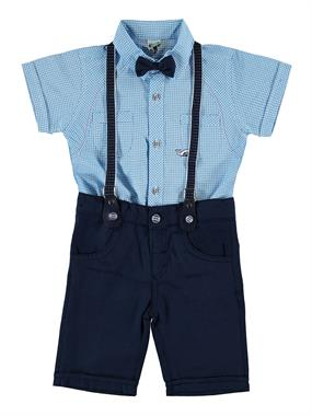 Kumru Team With A Bow Tie Turquoise Boy Ages 2-5