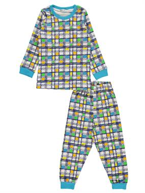 Civil Boys A Pajama Outfit Turquoise Boy 2-5 Years