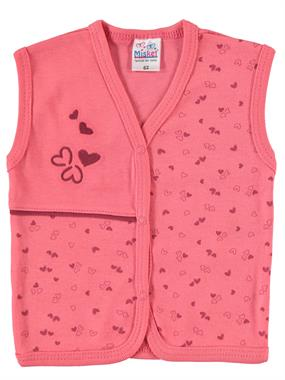 Misket 1-9 Months Baby Girl Vest, Tongue In Cheek